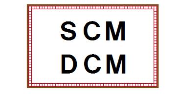 SCMとDCM